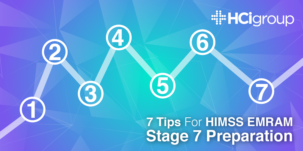 7 Tips for HIMSS EMRAM Stage 7 Preparation