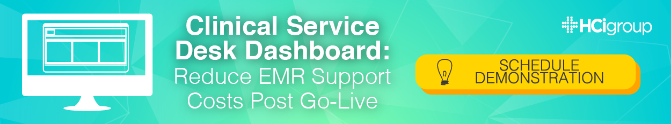 Clinical Service Desk Dashboard Schedule Demonstration