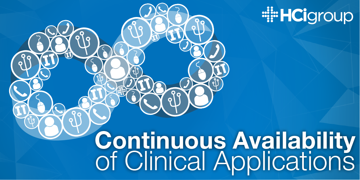 Continuous Availability of Clinical Applications
