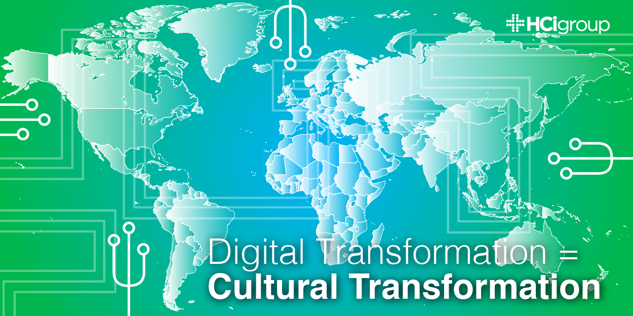 Digital Transformation = Cultural Transformation