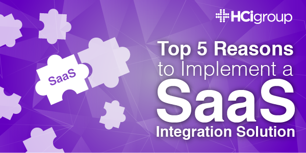 EHR Integration- Top 5 Reasons to Implement a SaaS Hosted Integration Solution