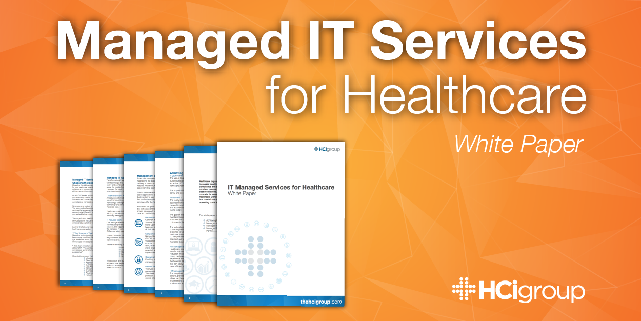IT Managed Services for Healthcare