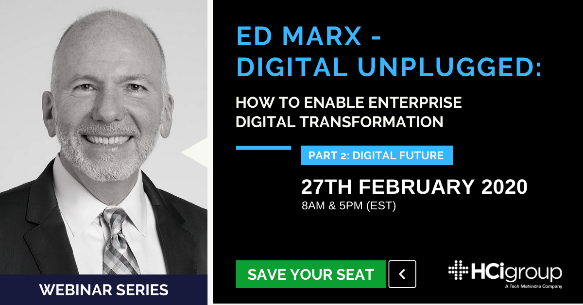 Digital unplugged webinar series