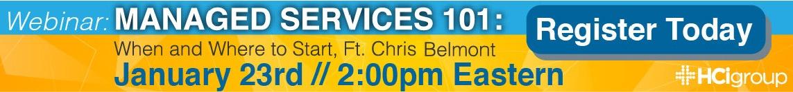 Managed Services Webinar