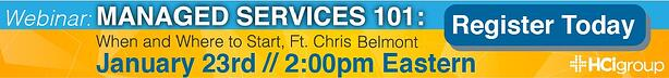 Managed Services Webinar