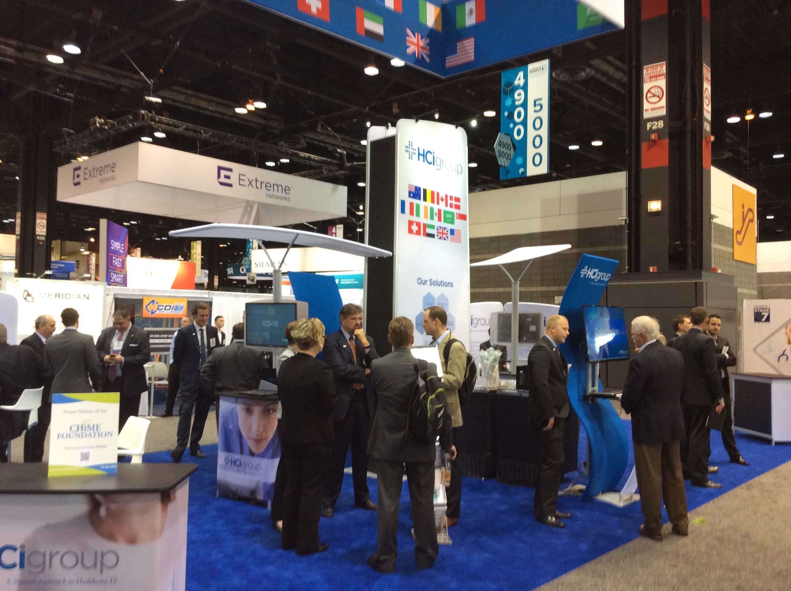 HIMSS  2015 Day Two
