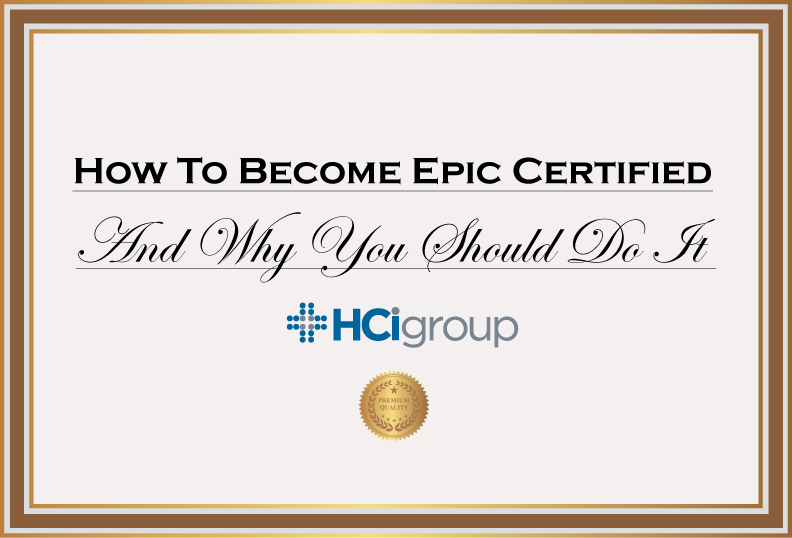 How to Become Epic Certified and Why