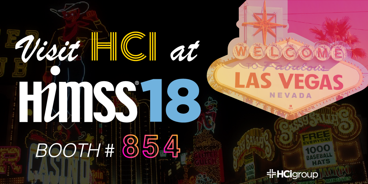 HCI Booth 854 at HIMSS18