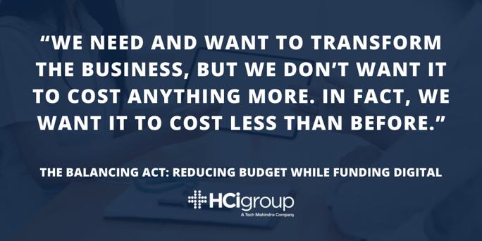 reducing budget