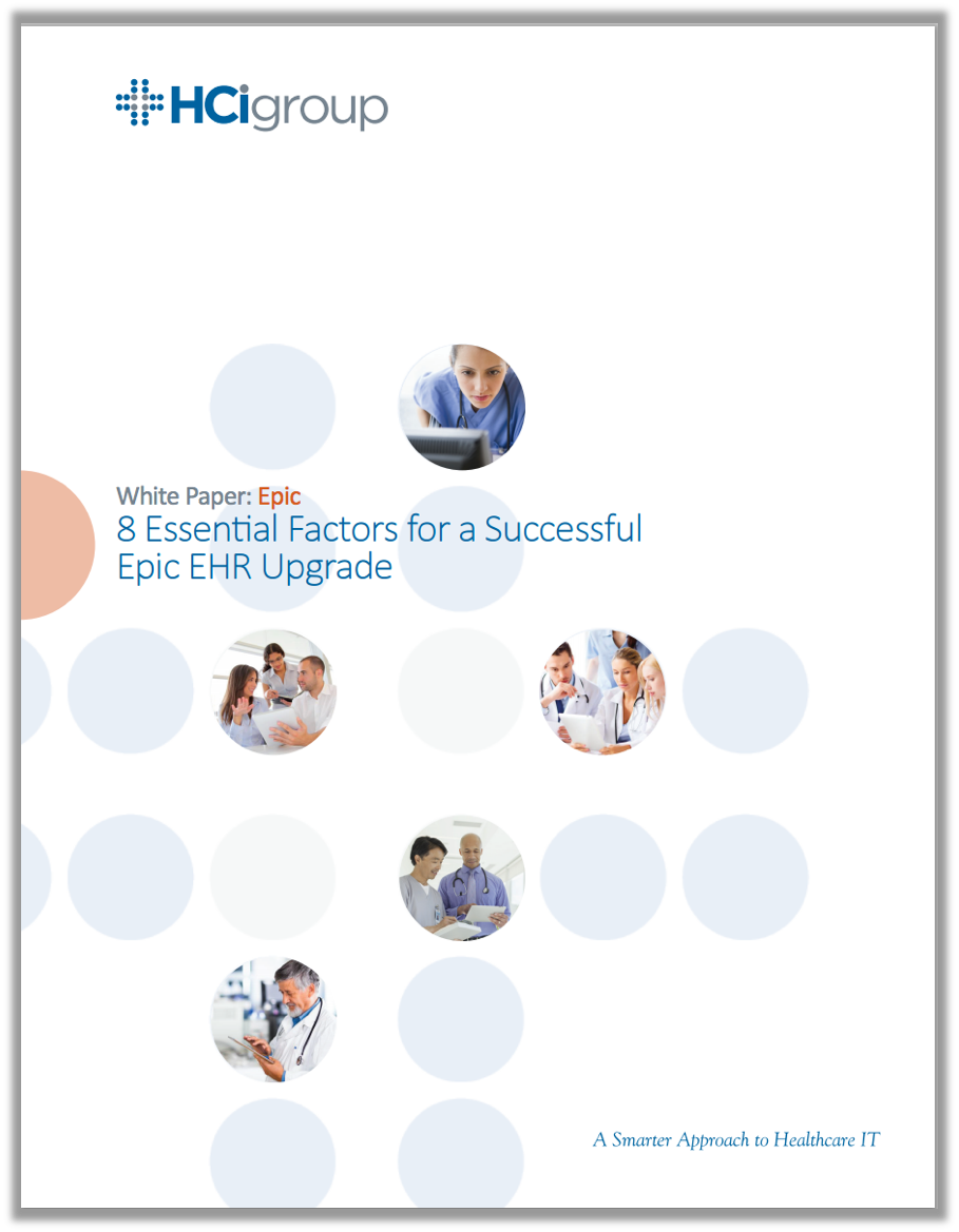 8 Essential Factors for a Successful Epic EHR Upgrade