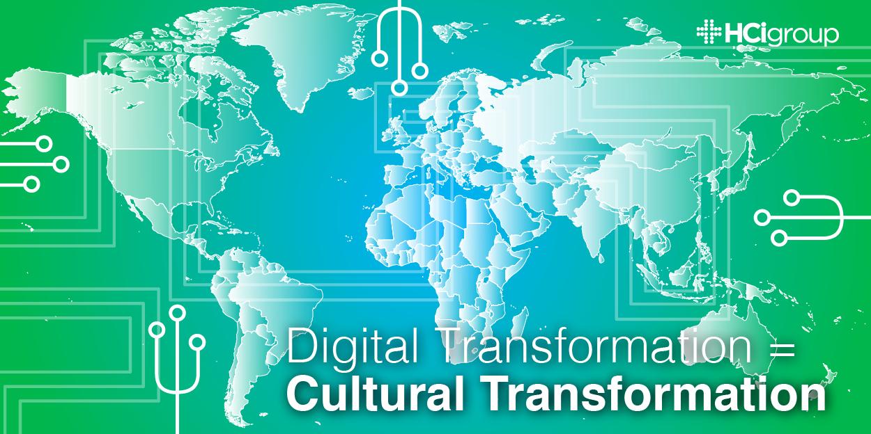 Digital Transformation = Cultural Transformation