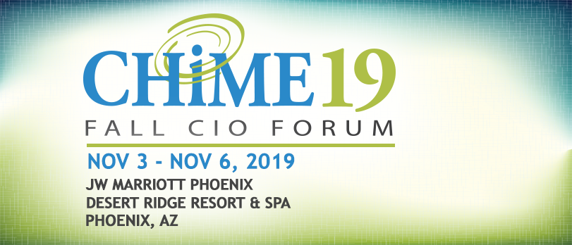 HCI Group at CHIME19 Fall CIO Forum