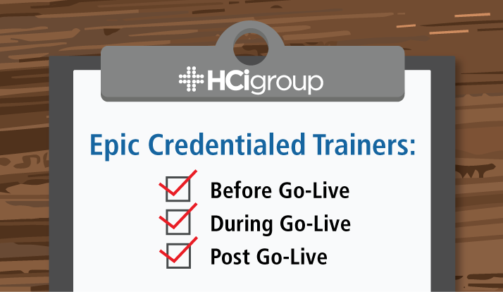 Epic Credentialed Trainers: Before, During & Post Go-Live