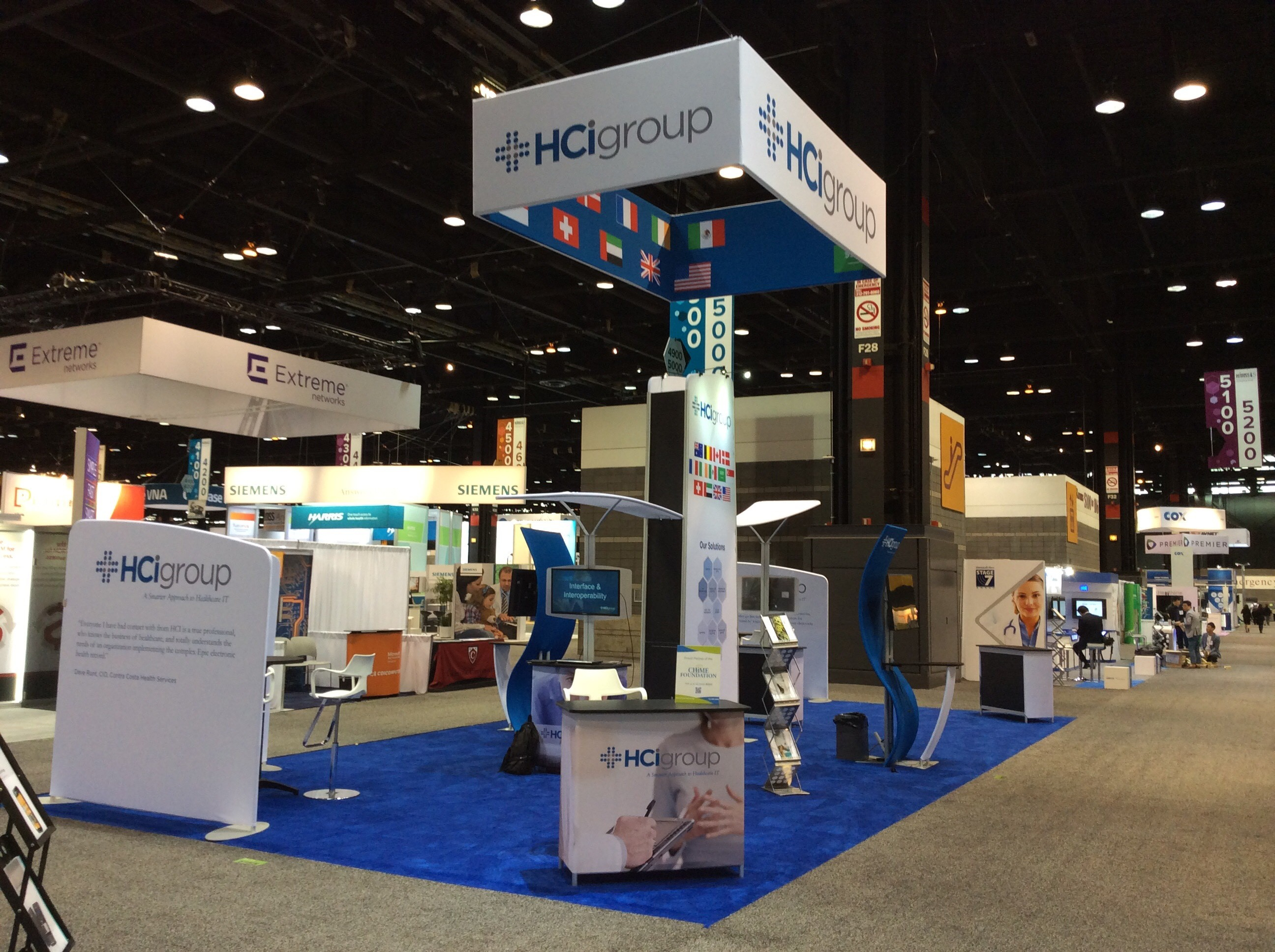 HIMSS 15 Day One According to Blair