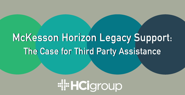 McKesson Horizon Legacy Support: The Case for Third Party Assistance