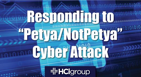 Cybersecurity in Healthcare: Responding to Petya/NotPetya Attack