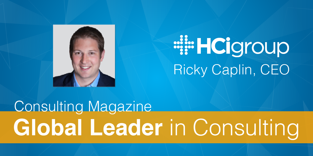Ricky Caplin, CEO of HCI Recognized as Global Leader in Consulting