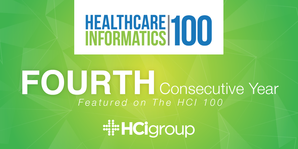 The HCI Group Ranks in the HCI 100 for Fourth Consecutive Year
