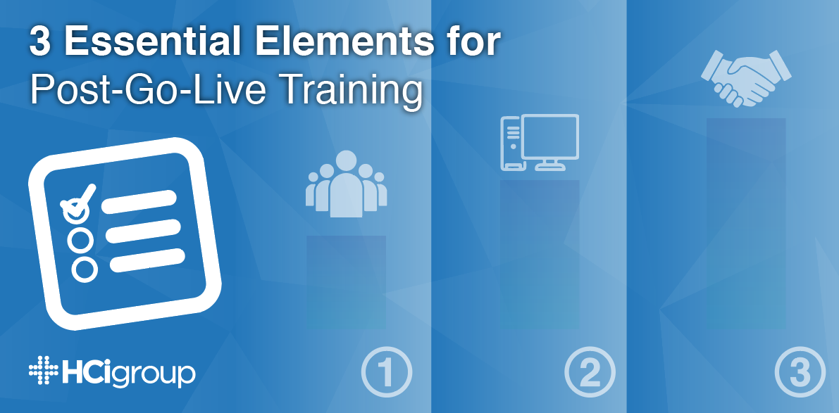 3 Essential Elements for Post-Go-Live Training