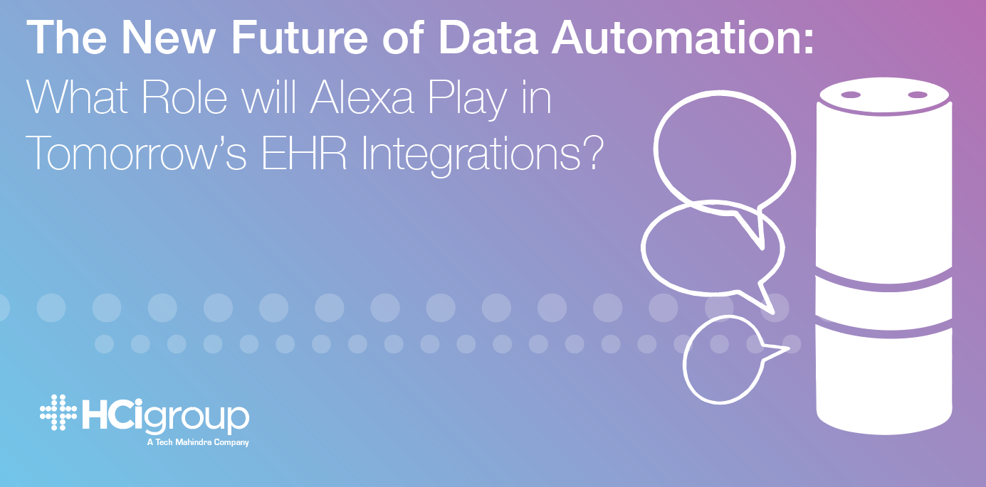 The New Future of Data Automation: What Role will Alexa Play in Tomorrow's EHR Integrations?