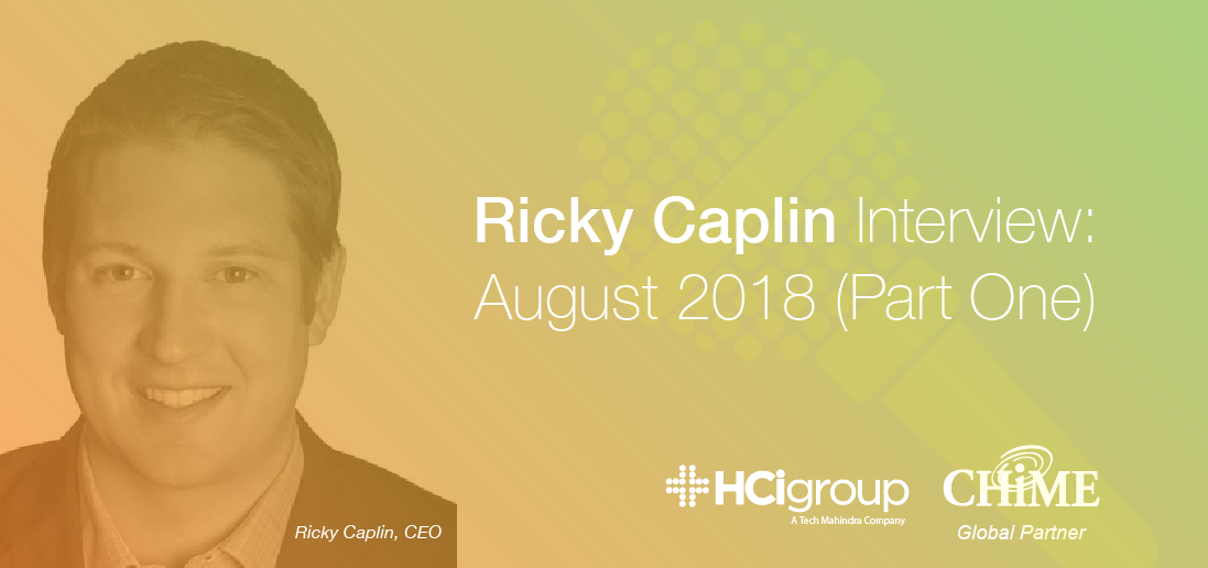 Ricky Caplin Interview - August 2018 (Part One)