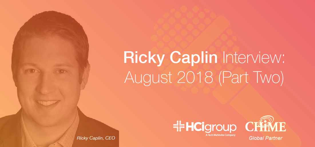 Ricky Caplin Interview - August 2018 (Part Two)